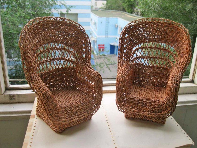 Плетёная мебель своими руками мастер класс 28