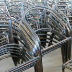алюминиевій каркас ротанговой мебели