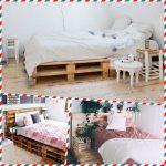 Дачная мебель для спальни из поддонов