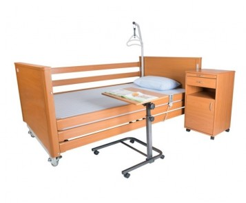деревянная медицинская кровать