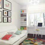 Детская комната с мебелью из икеа для подростка