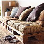 диван из старого поодона
