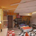 Дизайн комнаты для автолюбителя