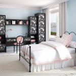 Дизайн спальни для подростка в винтажном стиле