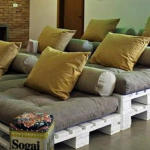 Домашний кинозал или места для гостей