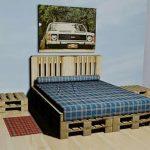 Домик холостяка с мебелью из поддонов