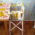 Высокий детский стульчик для кормления