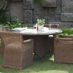 фото с вариантами садовой мебели из искусственного ротанга