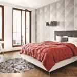 Геометрические формы для декорирования спальни
