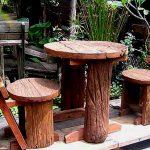 Грубая обработка деревянных изделий для стиля кантри