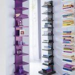 Идея для хранения книг в маленькой комнате