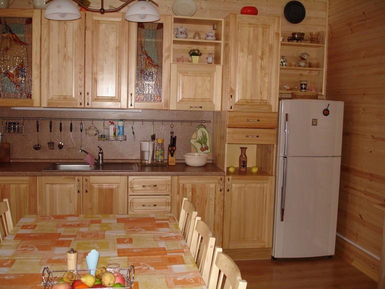 Фасады для кухни из сосны своими руками 98