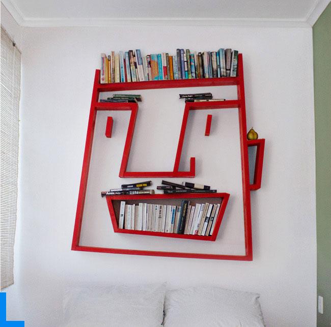 Идеи полочек на стену своими руками 48