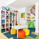 Комфортабельная детская зона для игр и занятий