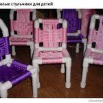 Красивые детские стульчики