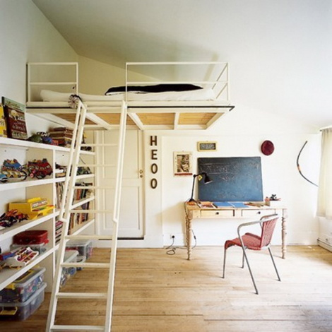 Как сделать кровать на высоте