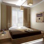 Кровать-подиум для необычного интерьера