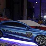 """Кровать """"Полицейская машина"""" с подсветкой"""
