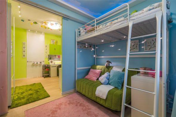 Кровать Свэрта в интерьере детской комнаты