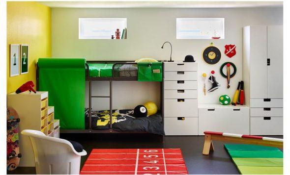 Кровать Туффинг в интерьере детской