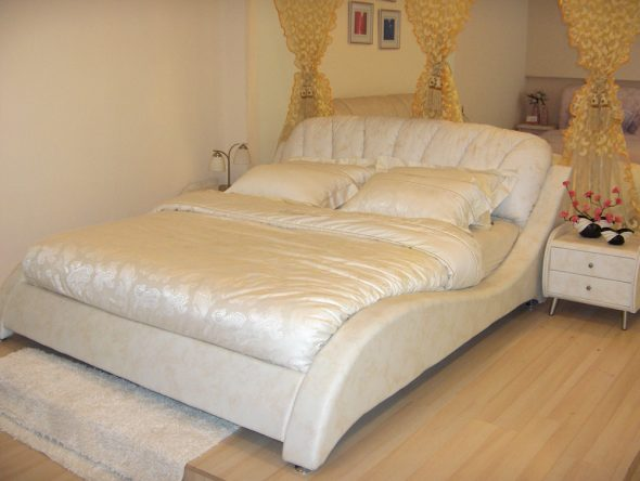 Кровать волна грация