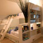 Деревянная кровать-чердак для детей