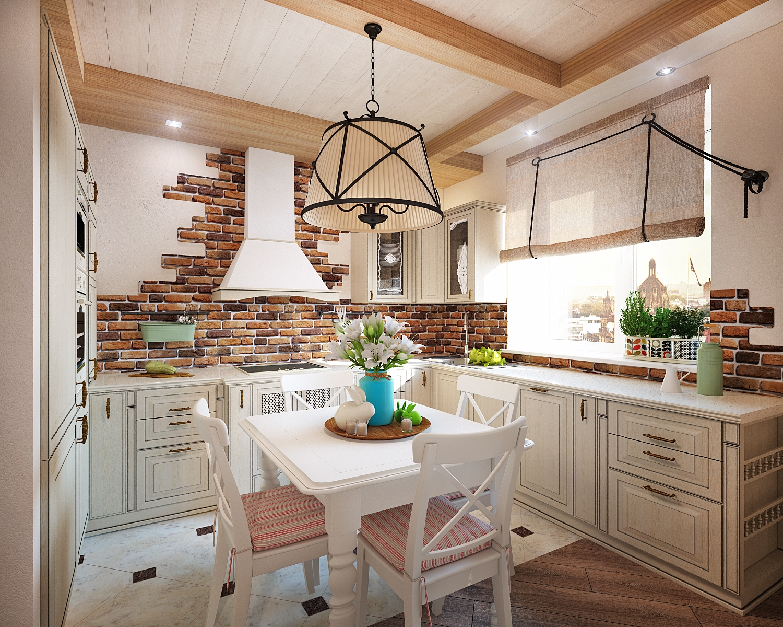 Как оформить кухню в квартире своими руками фото