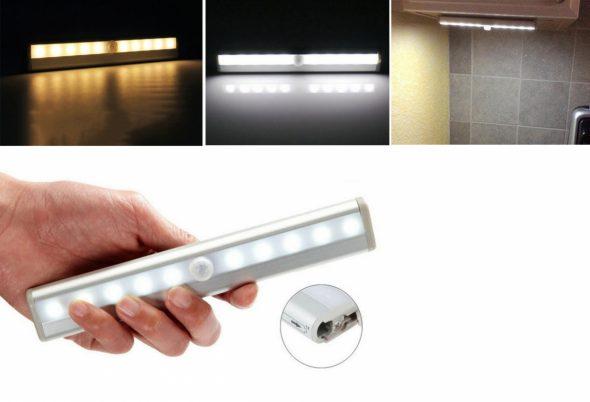 LED светильник для шкафа