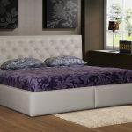 Люксовая кровать с мягким изголовьем