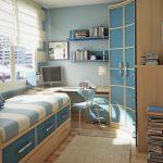 Маленькая спальня для мальчика подростка
