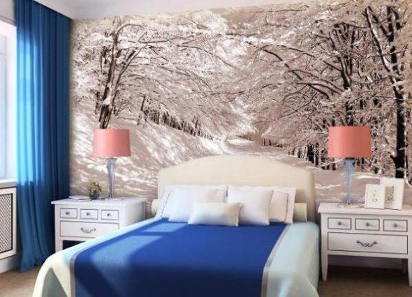 """Маленькая спальня """"Зимний сон"""""""