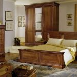Мебель для спальни из мореного дуба