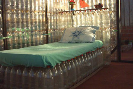 мебель из пластиковых бутылок своими руками