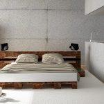 Мебель из поддонов в квартире-студия