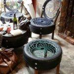 мебель из старых шин своими руками