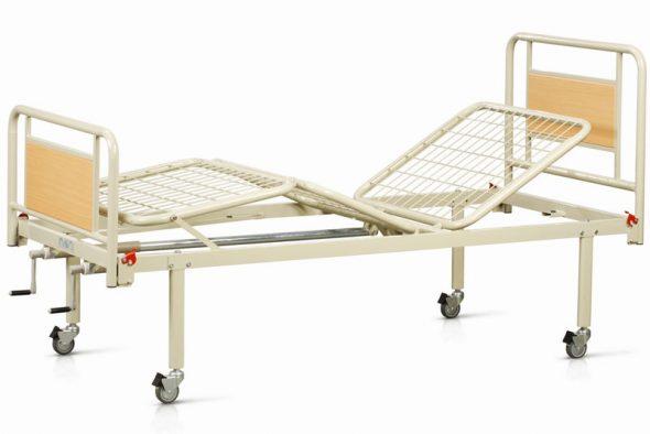 медицинская механическая кровать