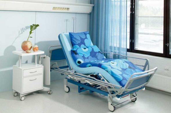 медицинская многофункциональная кровать для лежачего больного