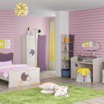 """Милая комната для девочки со спальным гарнитуром """"Амелия"""""""