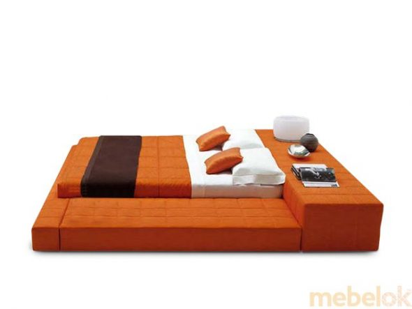 Мягкая кровать-подиум