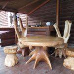 Необычная мебель из сухостоя