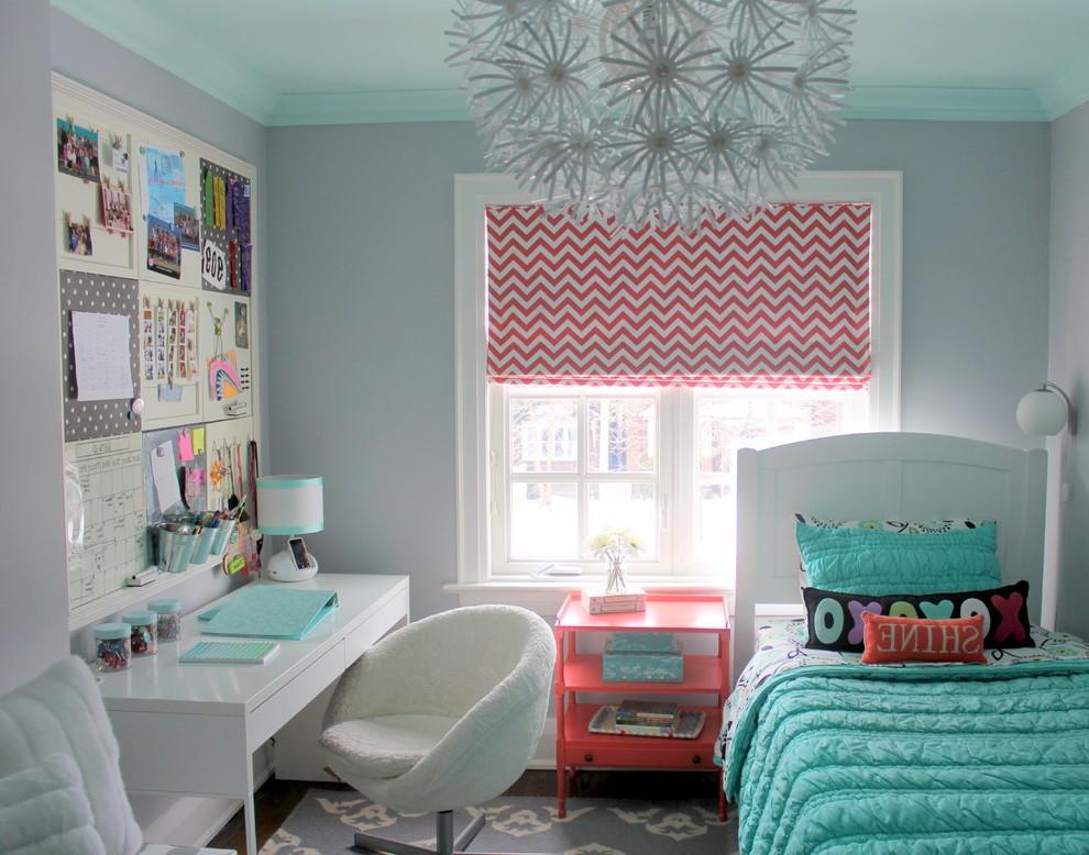 Дизайн комнаты для девочки-подростка в