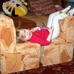 Оригинальная мебель для малыша своими руками