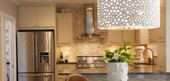 Освещение для кухни в стиле лофт