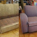Перетяжка и ремонт мягкой мебели своими руками