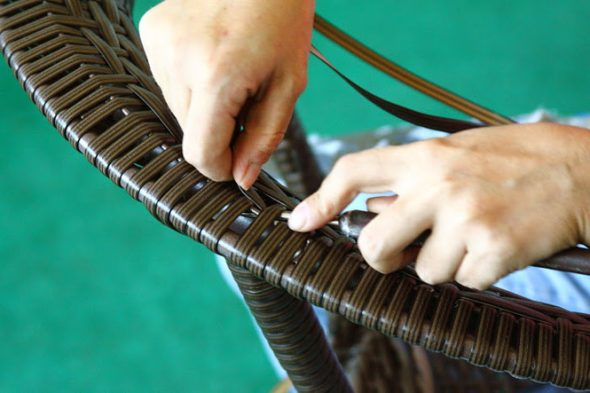 плести мебель из ротанга своими руками
