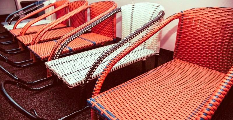 Изготовление плетеной мебели из искусственного ротанга