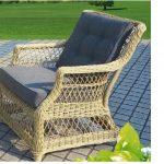 плетеная мебель-кресло