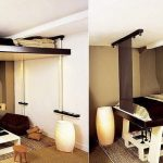 Подъемная кровать для маленькой комнаты