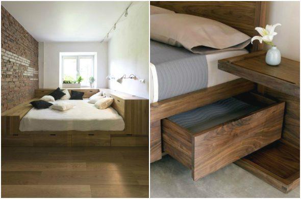 Полноценная двухспальная кровать