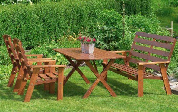 практичная садовая мебель